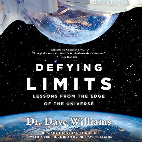 Defying Limits audiobook cover art