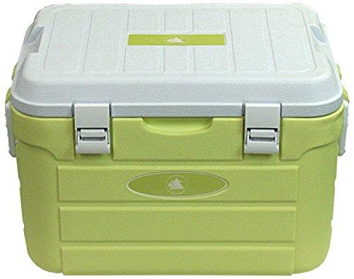 10T koelbox Fridgo 30L passieve thermobox PU koelbox warm/koud isolatiebox stijve koeltas groen