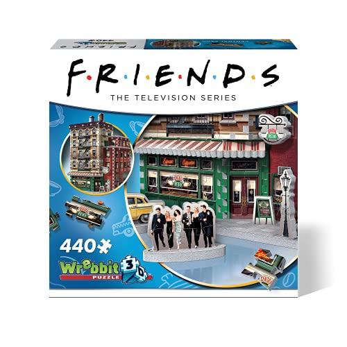 Wrebbit 3D-RD-RS262043 Puzzle 3D, Multicolor (Wrebbit3D W3D-1015)