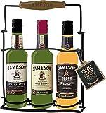 Kit JAMESON ORIGINAL + CASKMATES STOUT + BLACK BARREL - vol.40% - 3 x 20cl