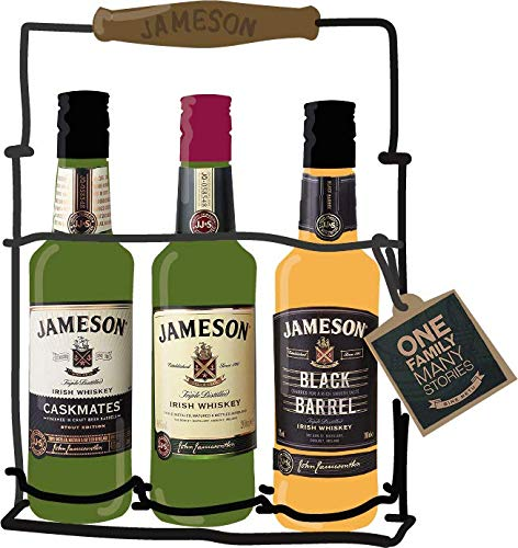 Kit JAMESON ORIGINAL + CASKMATES STOUT + BLACK BARREL - vol.40% - 3 x 20cl