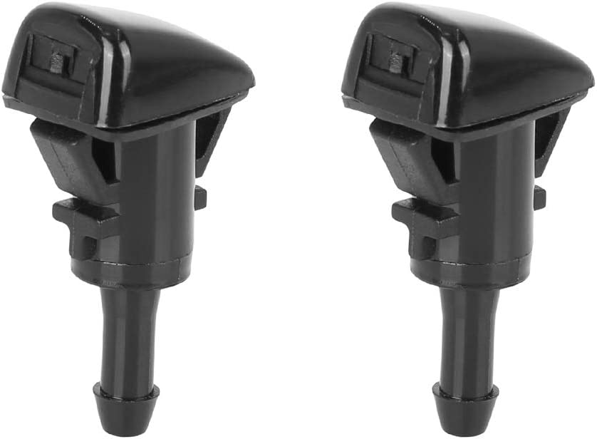 X AUTOHAUX 2pcs 05303834AB Discount mail order Windshield Sprayer Brand new Sing Washer Nozzle