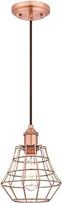 Westinghouse Lampada a Sospensione E27, Rame aggiunge, acciaio