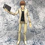 Modelo De Animenota De Muerte Figuras De Luz Yagami Juguetes Figura De Acción Death Note PVC Modelo Muñeca De Juguete con Caja Regalo para Niños 16 Cm