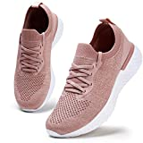 Womens Athletic Running Shoes Comfortable Tennis Shoes Lightweight Walking Shoes Lace Up Trainers