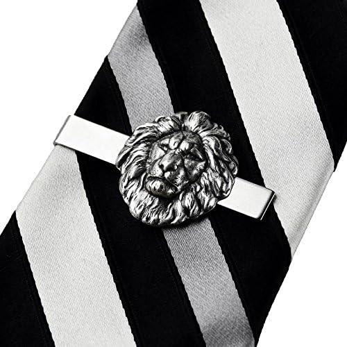 Quality Handcrafts Guaranteed Lion Tie Clip