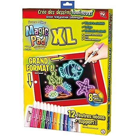 Magic Pad - Tablet mágica en versión XL con 48 accesorios, vista a la televisión