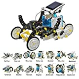 The Source Wholesale TS0139 14 in 1 Educational Solar Robot Kit