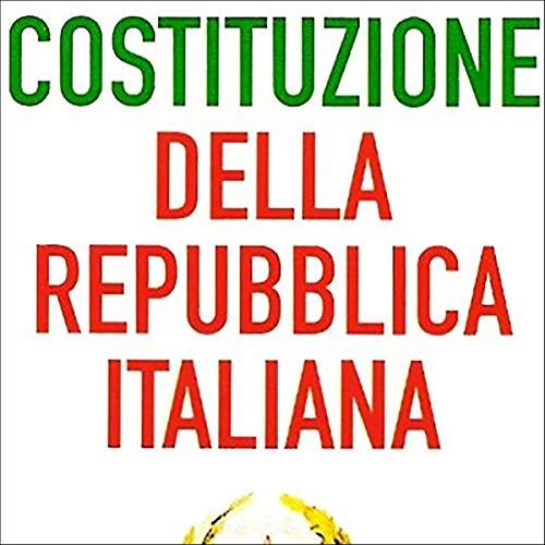 La Costituzione italiana audiobook cover art