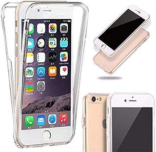 e56b47610ef Generica - Funda TPU Doble Frontal Trasera 360 Ultra Fina Iphone 6 Plus y 6S  Plus