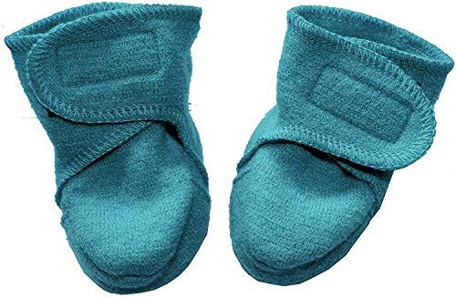 Disana Walk-Schuhe aus 100{5ebf219a052a20772a7e7bba3b959789e202316f2be31811a3519caa70f93531} Merino-Schurwolle (01 (4-8 Mon.), Lagoon)
