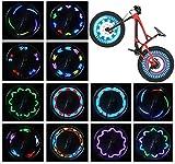 Bike Wheel Lights (2 Tire Pack) -...