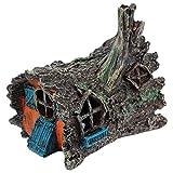 STOBOK Acuario paisaje árbol tocón agujero roca cueva cíclidos piedra tanque de peces adorno para peceras escondite decoración