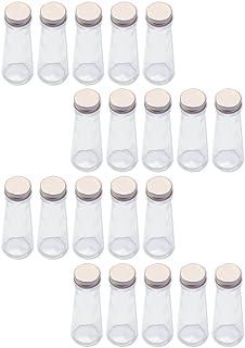 日本製 ハーバリウム 円錐ガラス瓶 50cc 20本セット