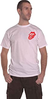 The Rolling Stones T Shirt Goat Head Soup Tracklist Officiel Homme Blanc