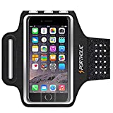 Running Arm Bands for Cell Phone, Adjustable Workout Phone Holder Arm Case for iPhone 11/11Pro Max/Xs Max/XR/X/8/7/6s Plus Sports Jogging Band for Samsung Galaxy S20/S10/S9/S8 Plus (Brown)