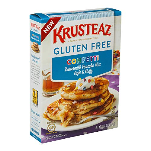 Krusteaz Gluten Free Confetti Buttermilk Pancake Mix 16 Ounce Box