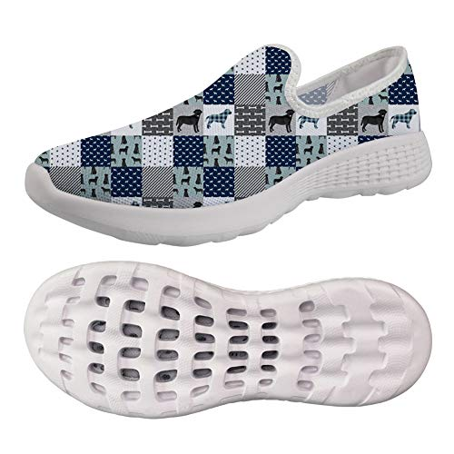 chaqlin Puppy Pattern Women Trainers Sneaker Road Running Shoes Leisure Travel Walking Beach Shoes Comfortable Shoe Size EUR 39