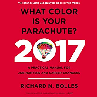 What Color Is Your Parachute? 2017 audiobook cover art