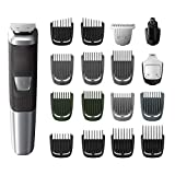 Philips Norelco MG5750/49 Multigroom All-In-One Trimmer Series 5000 With 18Piece, No Blade Oil...