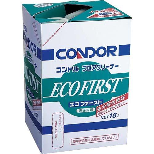 山崎 コンドル 床用洗剤 フロアクリーナーエコファースト18L H5518LXMB_101