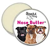 The Blissful Dog Pit Bull Terrier Nose Butter - Dog Nose Butter, 4 Ounce