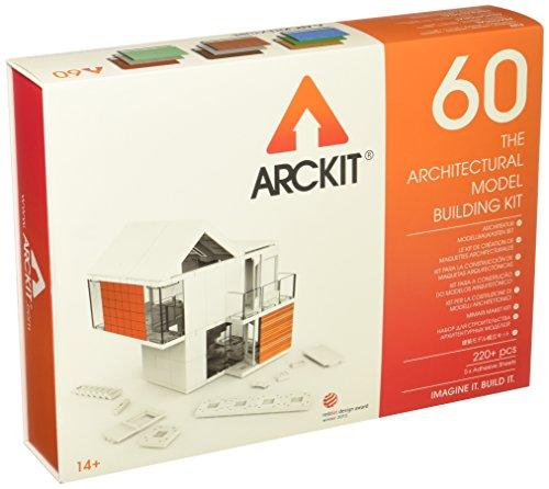 Arckit 60 Architectural Model Building Kit, Scale 1:48 Construction Set
