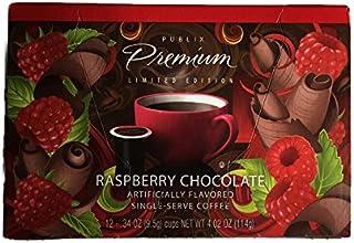 Publix Premium Limited Edition, Raspberry Chocolate, 12 Single Serve Coffee