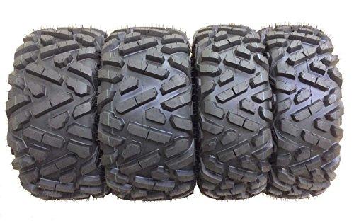 Set of 4 WANDA ATV UTV Tires 27x9-12 Front & 27x11-12 Rear 6PR Big...