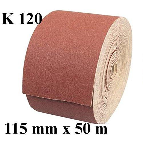 Clarik feuilles papier abrasif /à bois 230/mm x 280/mm Grain 120