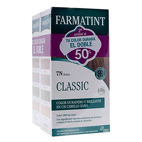 2 X FARMATINT 10 N RUBIO PLATINO CREMA