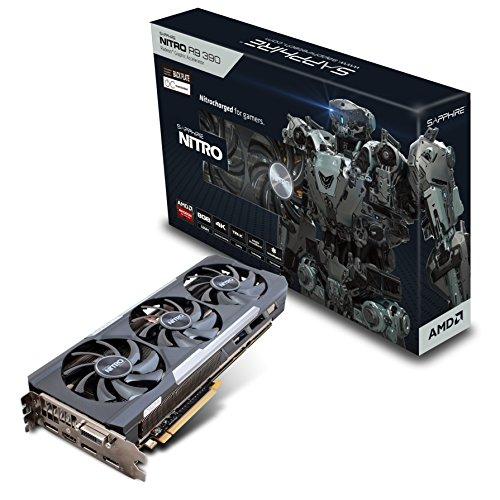 Sapphire 11244-01-20G NITRO R9 390 Grafikkarte (8GB GDDR5, DVI, HDMI, 3 x BildschirmPort)