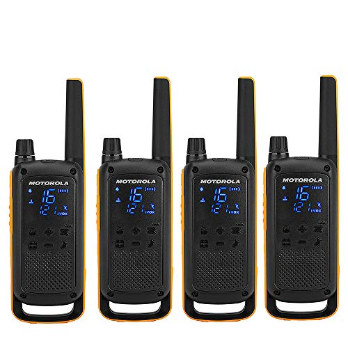 Desconocido Motorola TALKABOUT T82 Extreme Quad Set 4 Pack