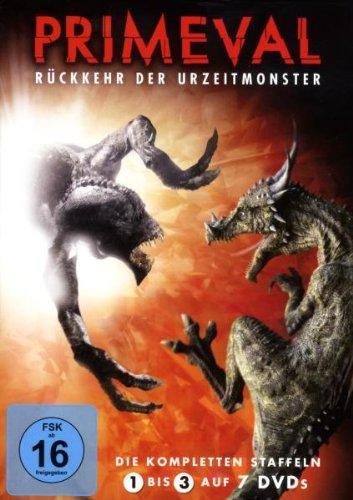 Primeval: Rückkehr der Urzeitmonster - Staffel 1-3 (7 DVDs)