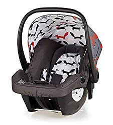 Hold Mix infant carrier, group 0+ is suitable from birth to 13 kg, rearward facing Deep comfortable shell, contoured for side impact protection to bring extra in-car security Includes plush seat liner and UPF 100+ canopy Compatible with Giggle Mix Pr...