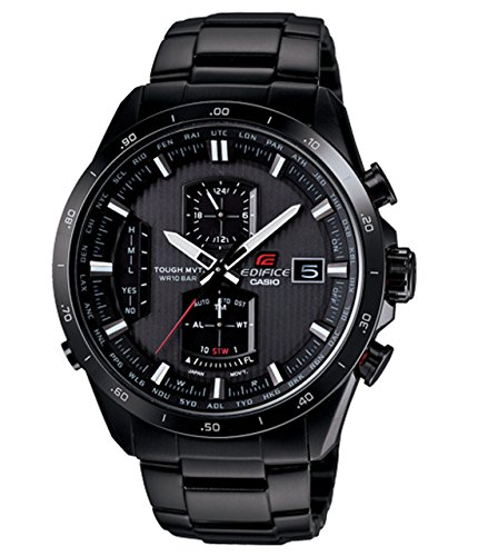 Casio EQWA1110DC-1A Edifice Black Label Atomic Solar-powered Radio-controlled Watch
