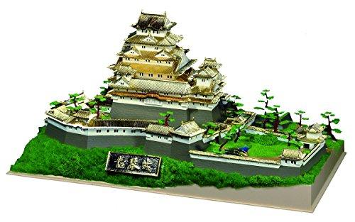 童友社『日本の名城プラモデル デラックス版 姫路城』
