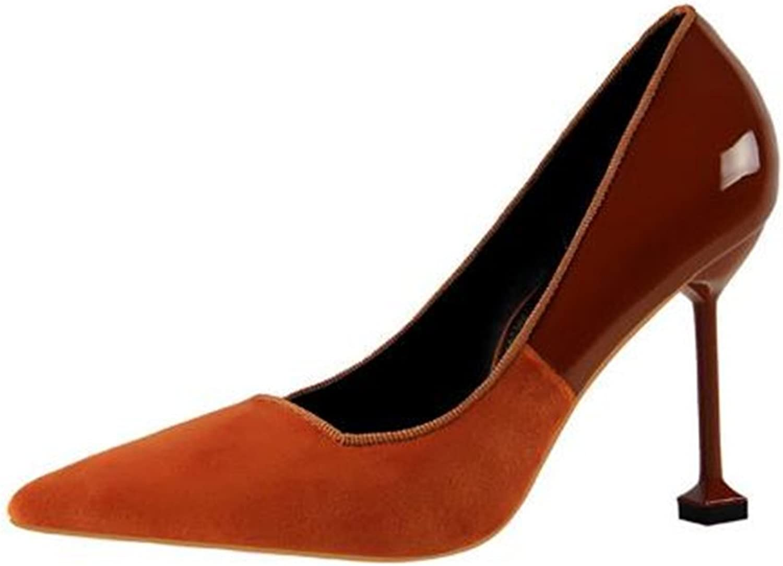 FORTUN Sexy Pointed Toe high Heels Women's Dress shoes Stilettos