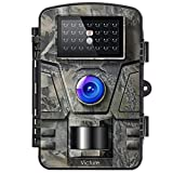 Victure Wildlife Camera 16MP 1080P Trail Game Camera Motion Activated Infrared Night Vision