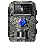 Victure IP66 Wildlife Trail Camera 12MP 1080P HD Infrared Cam with Night Vision and 2.4'' LCD Display for Outdoor and Home Security Surveillance