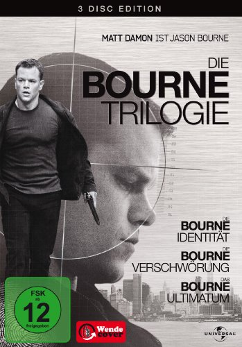 (1-3) Die Bourne Trilogie (3 DVDs)