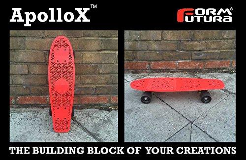 Formfutura ApolloX Filament pour imprimante 3D Gris clair 1,75 mm 4500 g