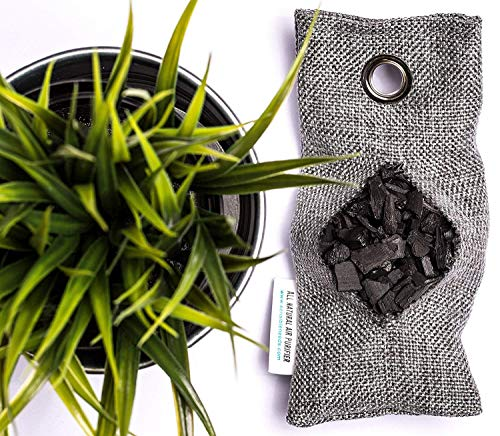 wyewye Activated Bamboo Charcoal Bags for Car Closet Shoe Home Basement 15Packs×100g 6 【GREAT VALUE PACK】Charcoal bags value pack provides 1.5kg of Activated charcoal. Each bag provides more absorbency than the standard 50g bags. Packed in a sealed linen bag with a ring on top for easy hanging on a hanger or hook. Sufficient size for cars, closets and other closed areas 【SUITABLE FOR FAMILIES】 Charcoal bags are made from environmentally friendly micro-porous activated bamboo charcoal, contains millions of tiny porous holes that can create a healthy atmosphere in your home. 【RECYCLABLE WITHOUT WASTE】These charcoal bags are reusable for 2 years! When this charcoal bag is saturated, in order to rejuvenate the bamboo charcoal bag, you need to place the charcoal bag outside in the sun once a month for at least two hours. You can reuse these charcoal bags without waste.