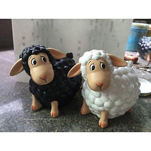 wunderschöne Spardose,Sparschwein,Sparbüchse Modell weißes Schaf