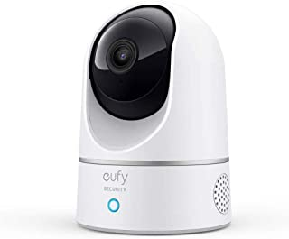 Eufy Indoor Cam 2K Pan & Tilt Home Security Camera for Indoor Surveillance, Human and Pet AI, Works with Voice Assistants,...