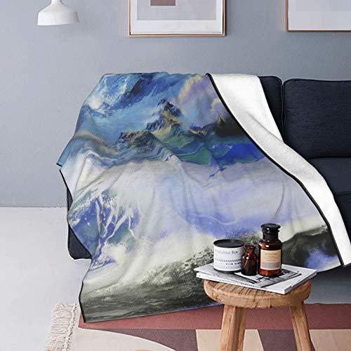 Manta de forro polar ultra suave, Nipic 5322945 20160128131041589002 para decoración del hogar, manta cálida para sofá cama de 150 x 100 cm
