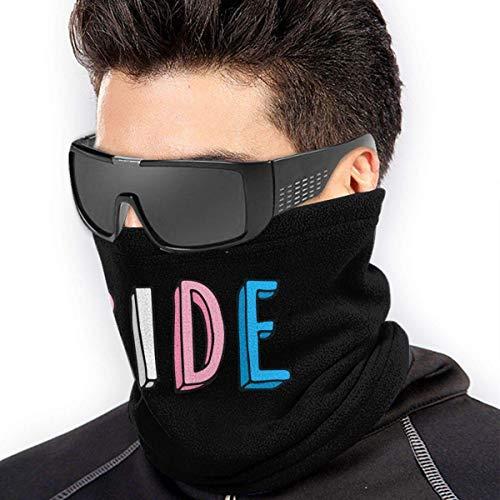 ShiHaiYunBai Braga Cuello Moto Calentador de Cuello Deporte Calentador Pasamontañas Polar Multifuncional Máscara Transgender Pride Men Women Face Mask Neck Warmer BandaFor Snowboarding