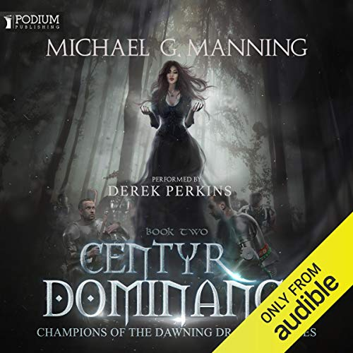 Centyr Dominance audiobook cover art