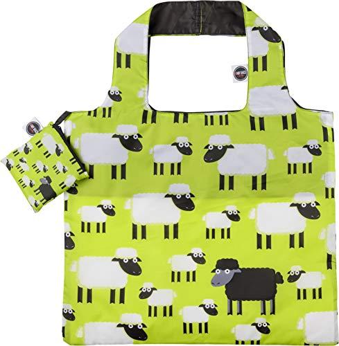 #ANY BAGS Einkaufstasche Tragetasche Black Sheep
