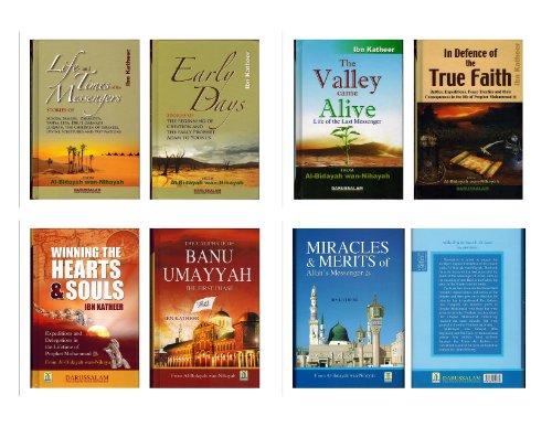 Al-bidayah Wan Nihayah English (7 Book Set) البداية والنهاية